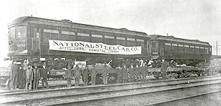 NSC steel passenger car image