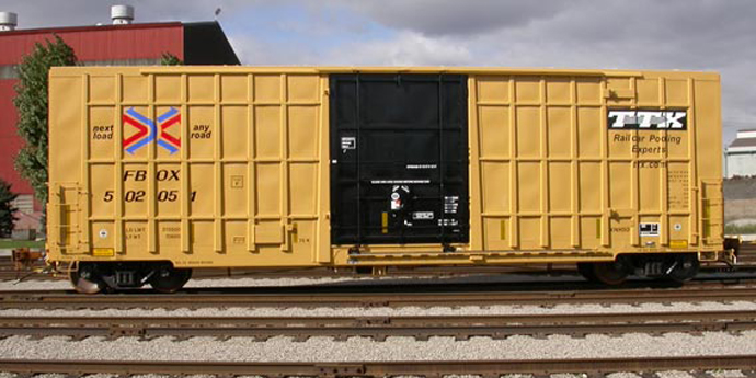 Jumbo Box Rail Car - Greg Aziz