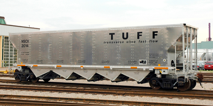 Coal Tuff Rail Car - Greg Aziz