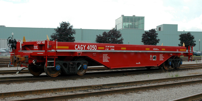 Coil Gondola Rail Car - Greg Aziz