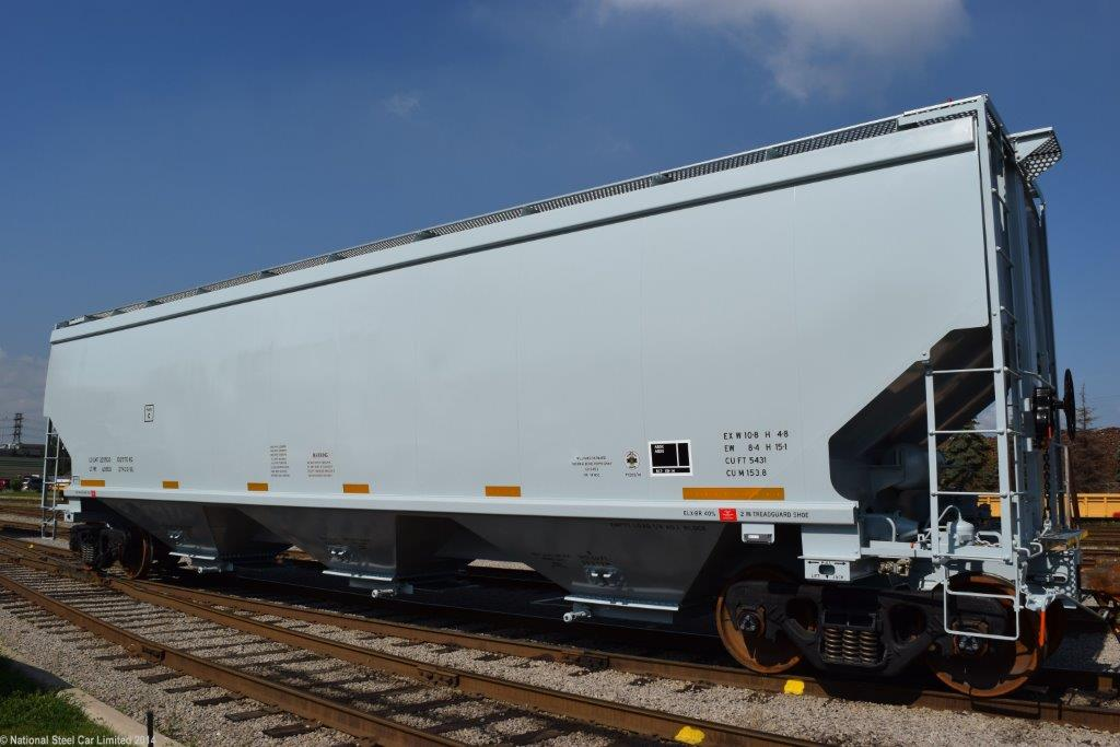 Covered Hopper Rail Car - Greg Aziz