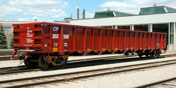 Gondola Rail Car - Greg Aziz