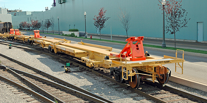 Intermodal Spine Rail Car - Greg Aziz