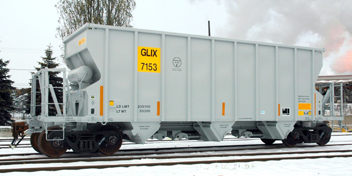 Open Top Hopper Rail Car - Greg Aziz